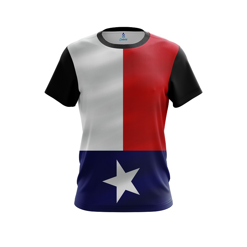 CoolWick Storm Oklahoma Flag Bowling Jersey